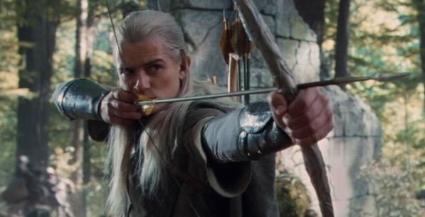 Day 5: Favorite Weapon: Bow of the Galadhrim used by Legolas. I don't know much about Weapons in LOTR other than what they are/look like.. This one looked the coolest haha