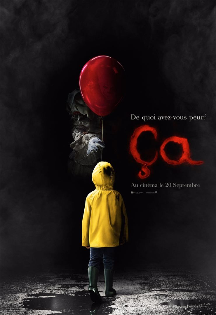 Ca Film Complet En Francais Horror Movie Posters Streaming Movies Movie Posters