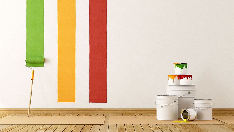 Paint For Interior Walls And Exterior