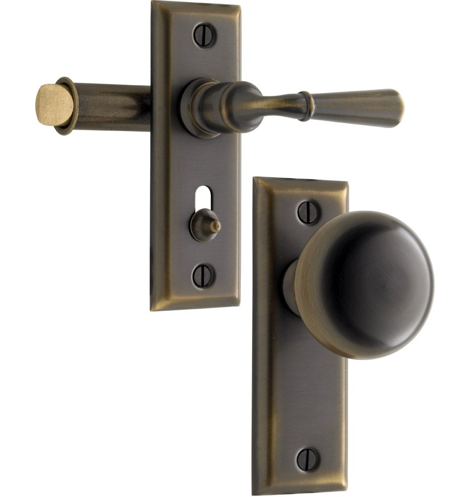 Putman Screen Door Latch Set. Solid Brass.Pairs With Putman Interior And Exterior  Door Sets.
