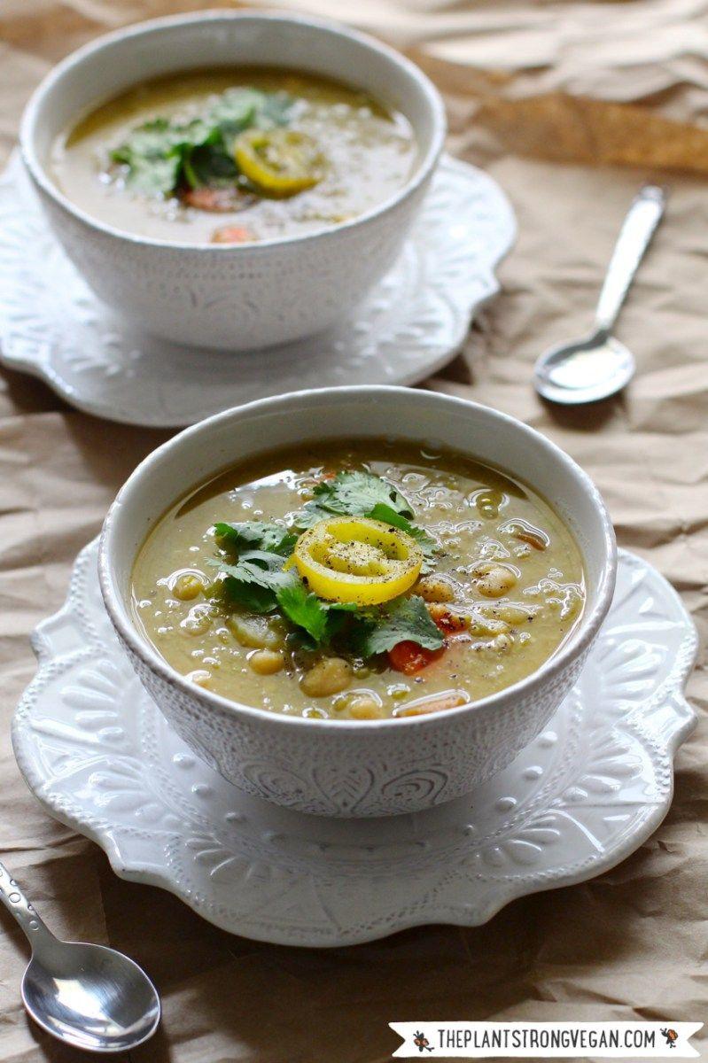 Plant Strong Vegan Vegetable Soup Recipe Vegan