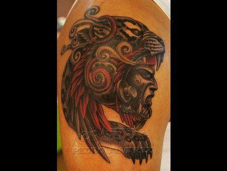 Guerrero Jaguar Tattoos Jaguar Tattoos