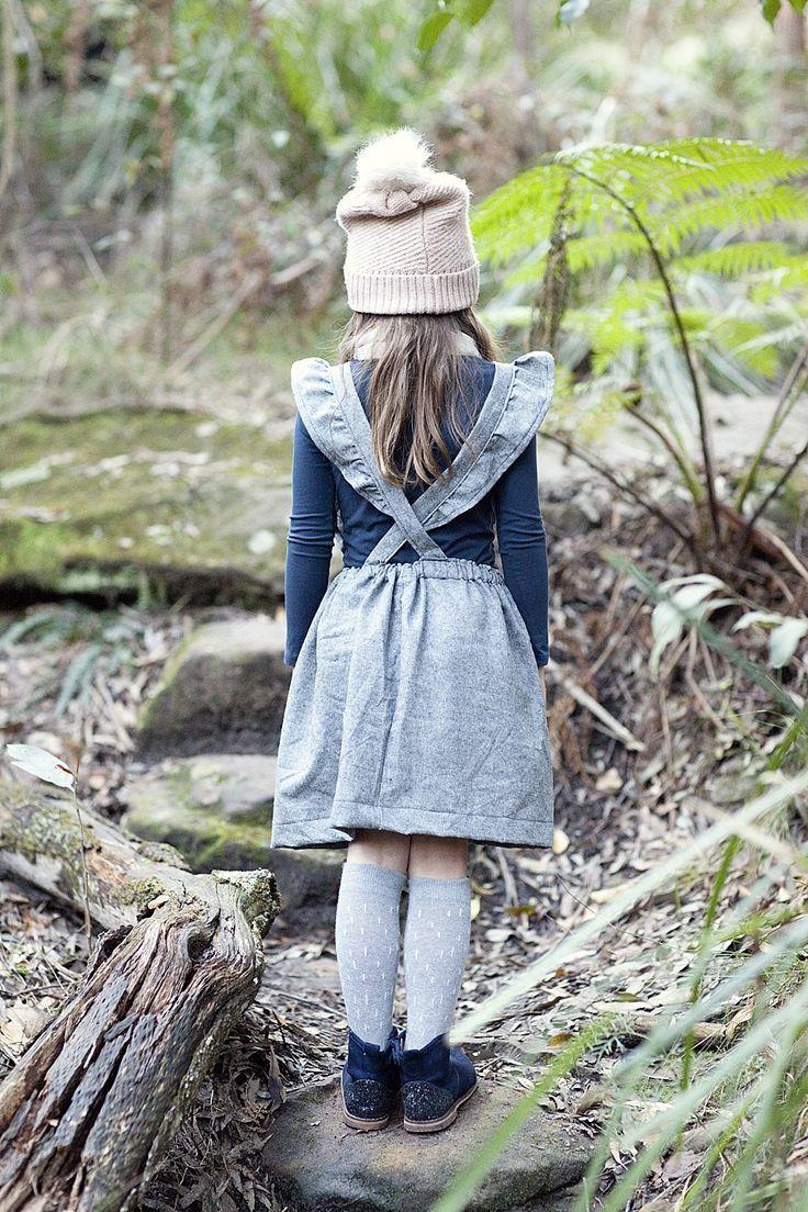 Ruffled Suspender Skirt | Nähen Inspiration || Für Kinder ...