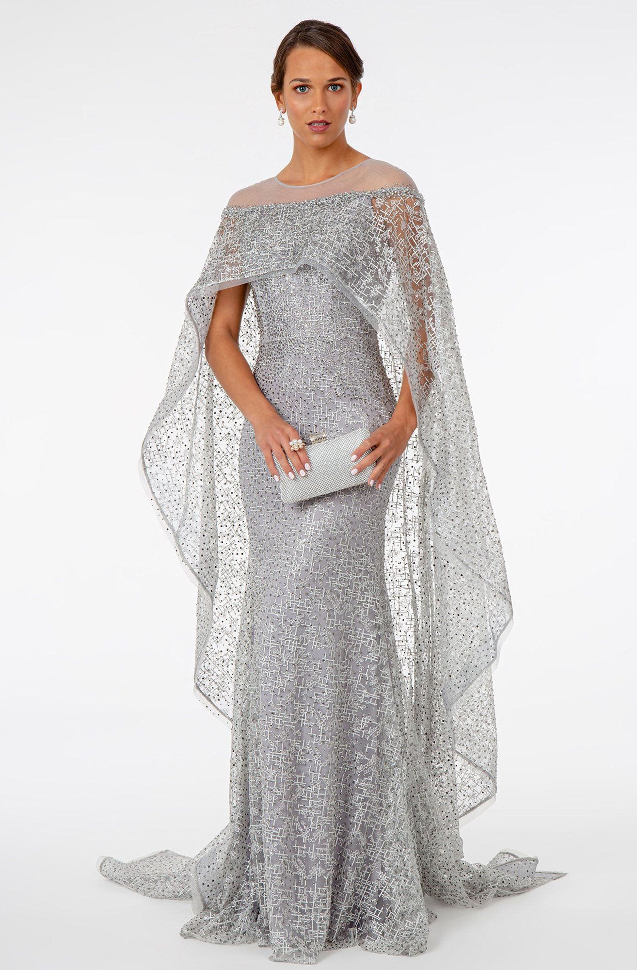 30+ Dress with cape attached ideas