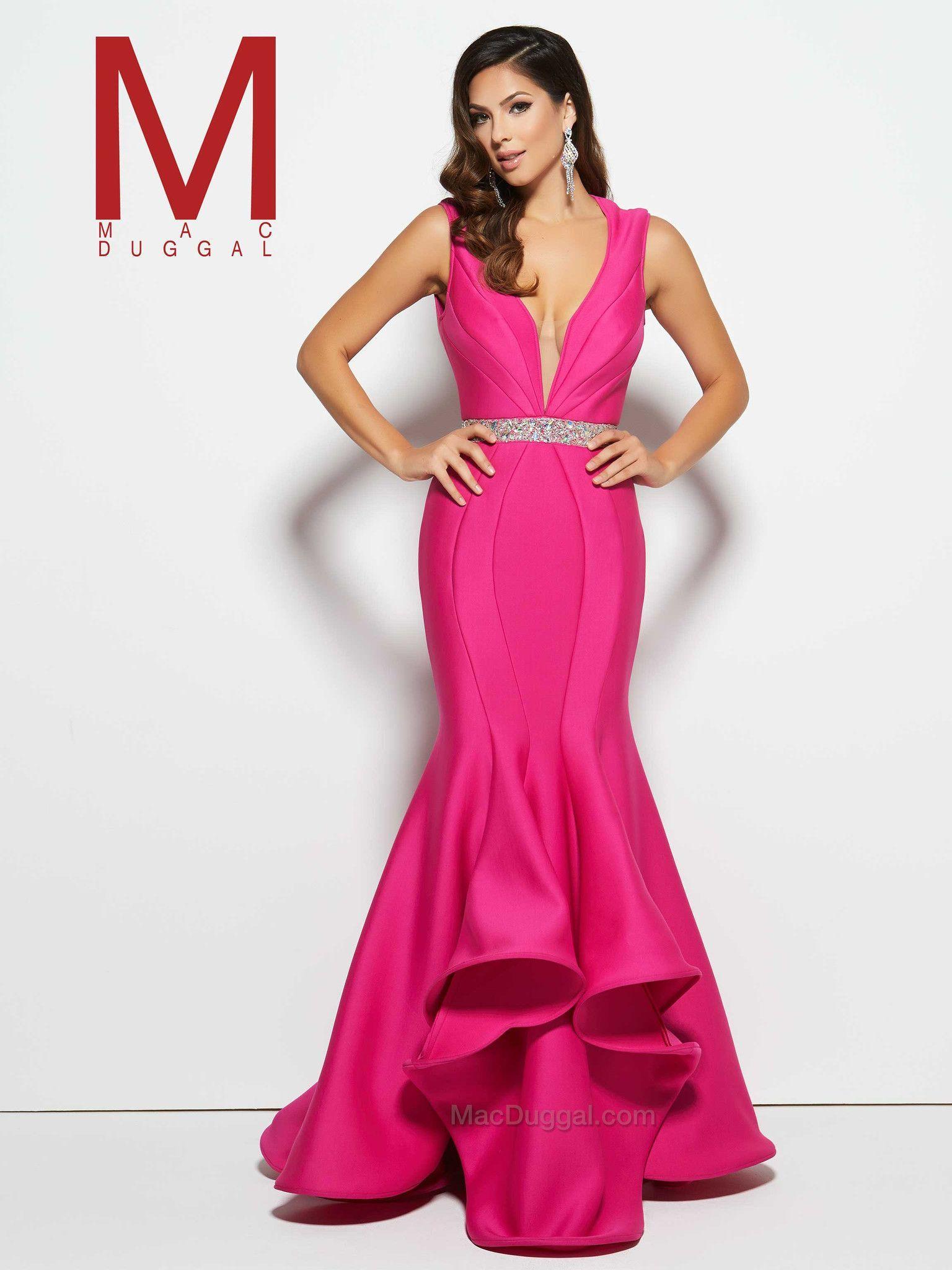 Mac Duggal 85463 | Vestidos de noche, Noche y Vestiditos