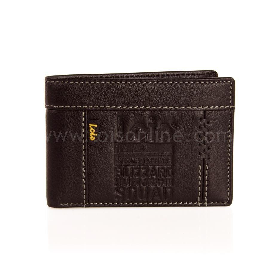 cb287289d BILLETERO PIEL LOIS SQUAD 35411 Elegante billetero de piel con distintos  departamentos para tarjetas, monedero con cierre en cremallera y  desplegable para ...