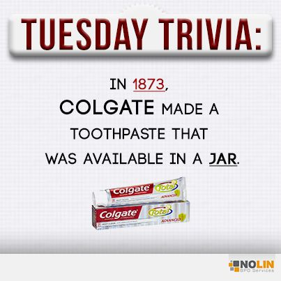 Toothpaste in a jar? Nice try Colgate.