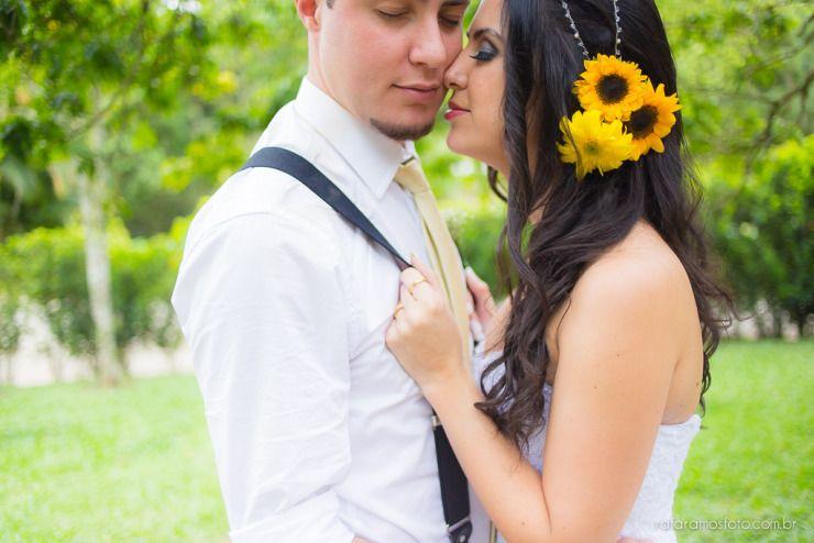 Raquel e Caio  Fotografia de Casamento  Espaço Natureza