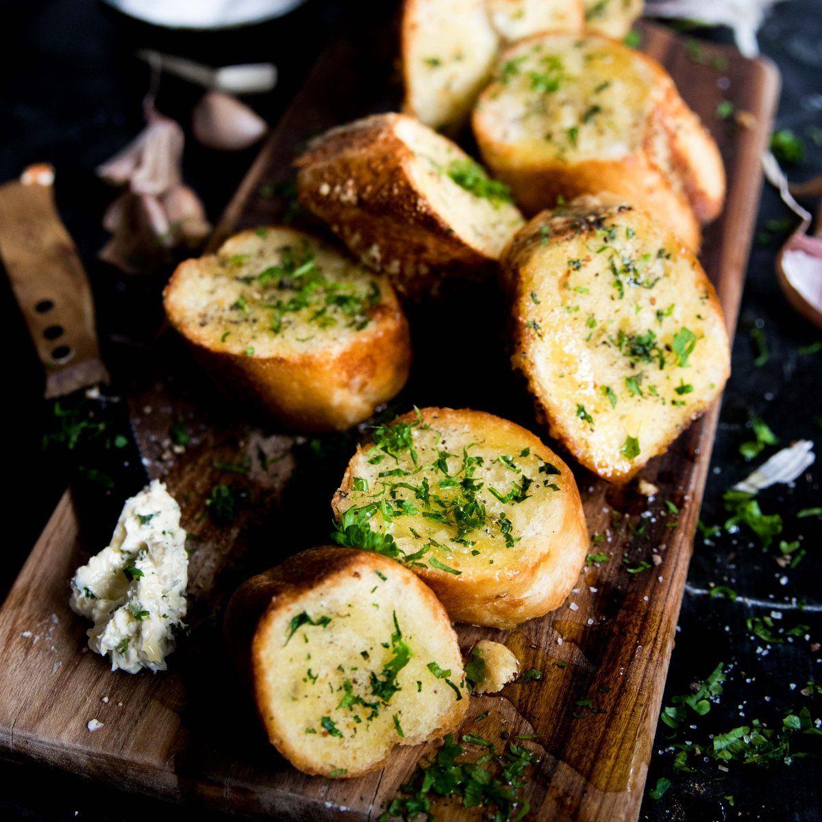 Garlic Bread | Recipes, Garlic bread, Baby food recipes