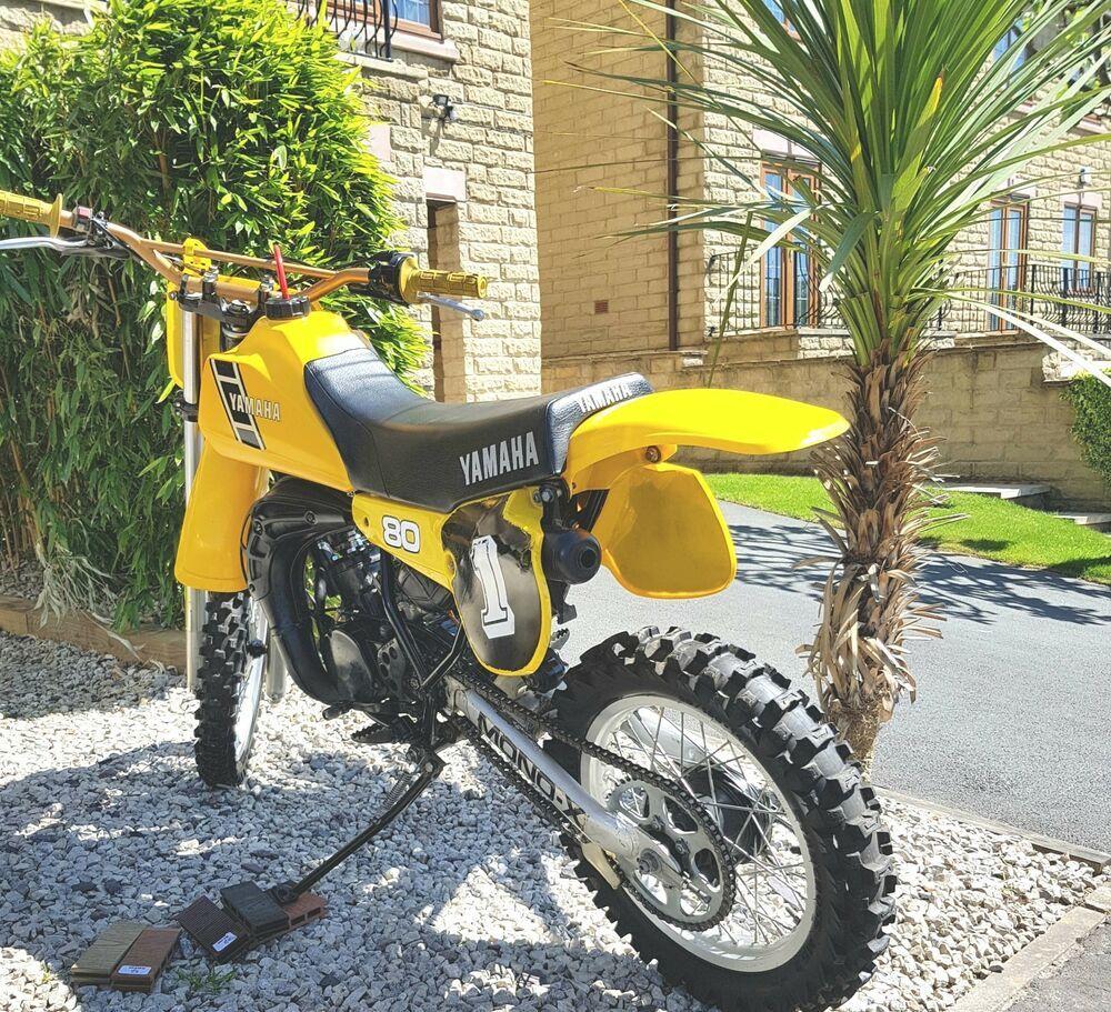 Yamaha Yz80 1983 K Rare And Unrestored Stunning Example Yamaha Yamaha Dirt Bikes Old Bikes