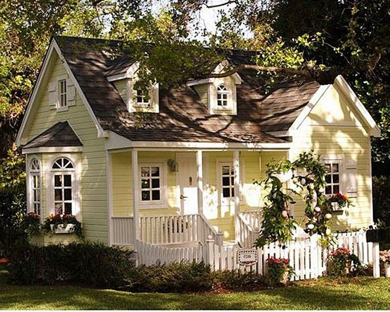 47 Comfy Cottage Design Ideas For Fun Lives Small Cottage Homes