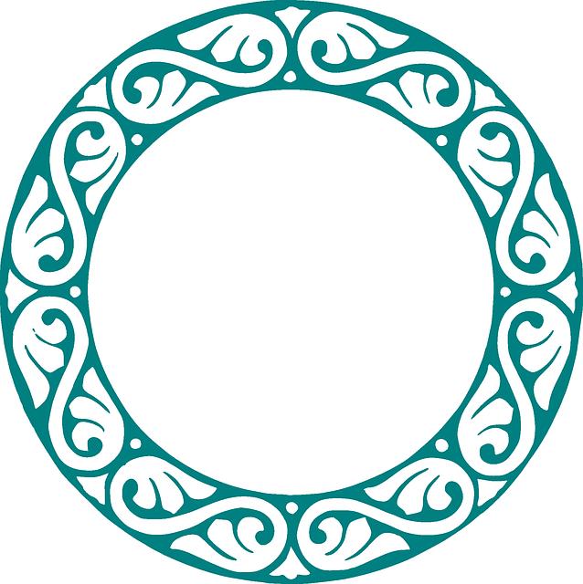 Free Image on Pixabay - Circle, Embellishment, Decoration #framesandborders