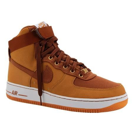 the best attitude 06f9b 32eb3 Tênis Nike Air Force 1 High 07 WW Masculino Bege Marrom   Tênis Masculino é  na Artwalk
