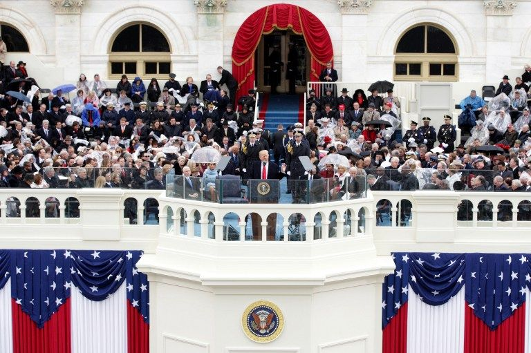 #world #news  Reuters: Trump, sworn in as US president, promises to put 'America First'  #freeSuschenko #FreeUkraine