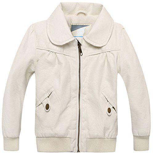 c8506c481715 David Nadeau Size 80-100Cm Baby Girl Outdoor Jacket Kids Leather ...