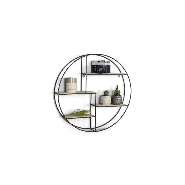 Photo of Mensole rotonde Mensole design Mensole soggiorno con 4 ripiani …