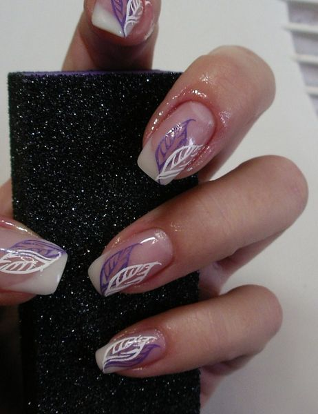 Herbst French Nail Designs French Nails Hair And Nails