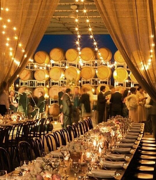 Simply Stunning Love The Magical Mood Created By Fairy Lights