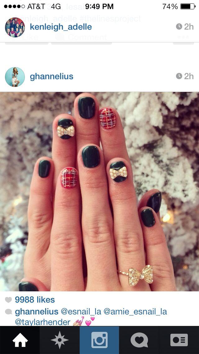 G hannelius\'s adorable nails done by esnail | Nails | Pinterest