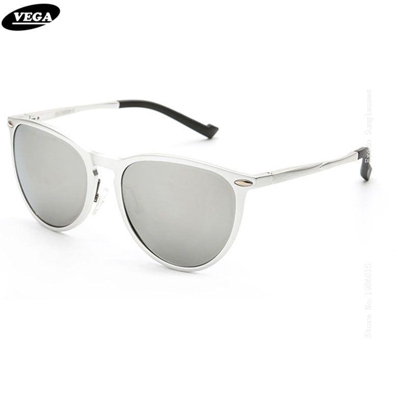 7bf62979d5 VEGA Aluminum Magnesium Alloy Frame HD Vision Lenses Best Wrap Around  Sunglasses Polarized Latest Novelty Sunglass