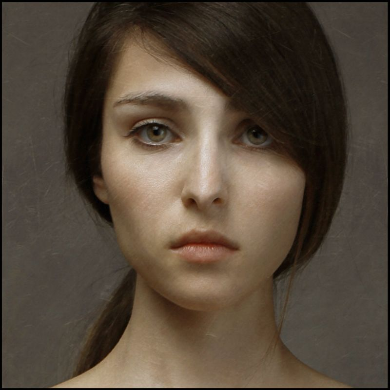 Hyper Realism Oil Portrait By Louis Treserras Oil Painting - Artist creates stunning hyper realistic paintings of women