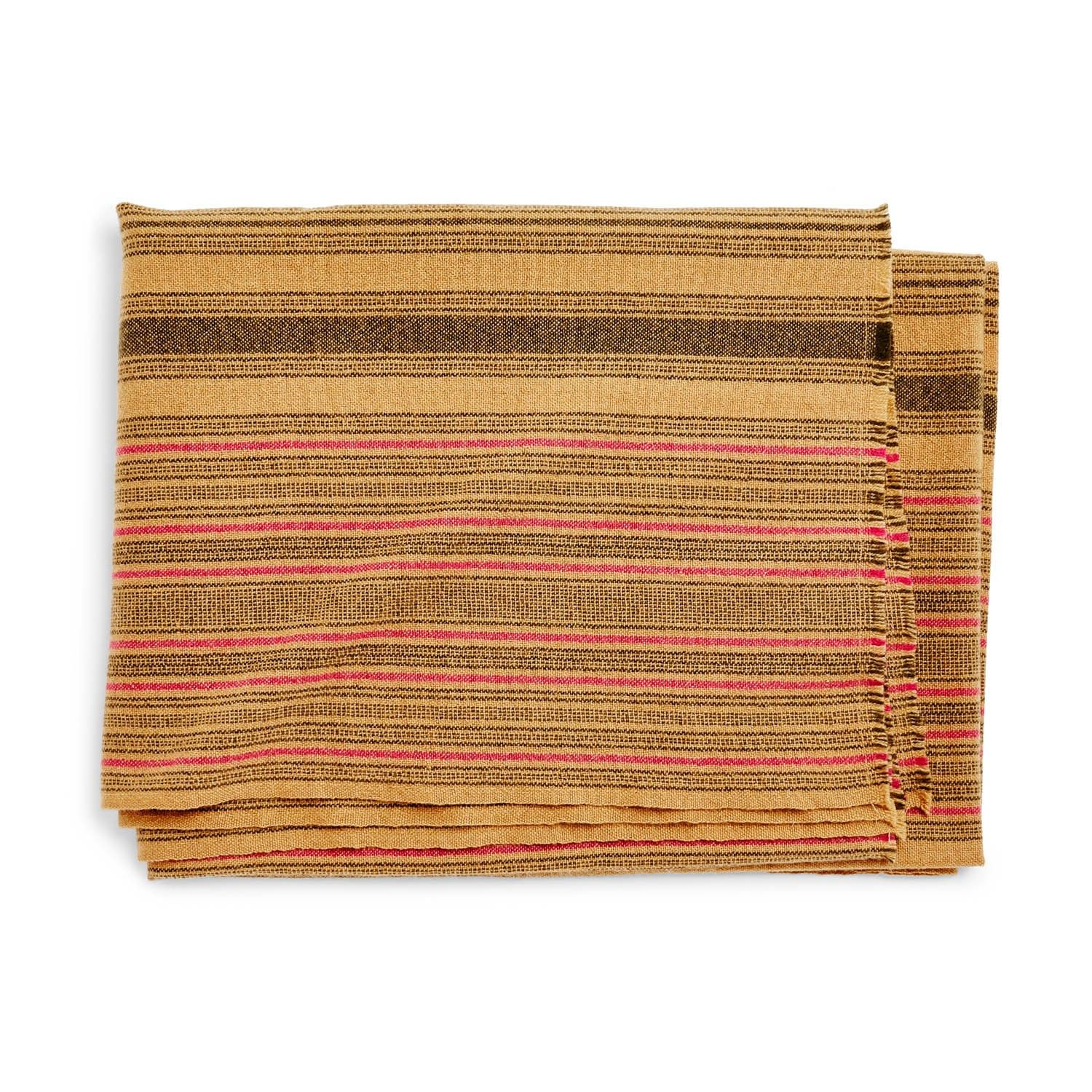 abcDNA Nomadic Cashmere Throw Teastain