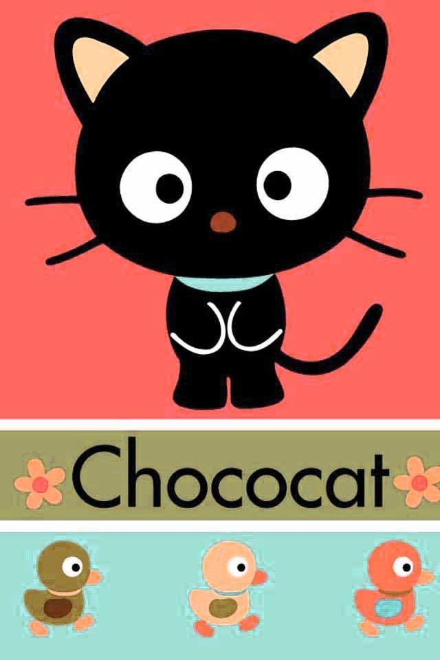 Chococat Sanrio San-X Choco Black Cat Anime Pin