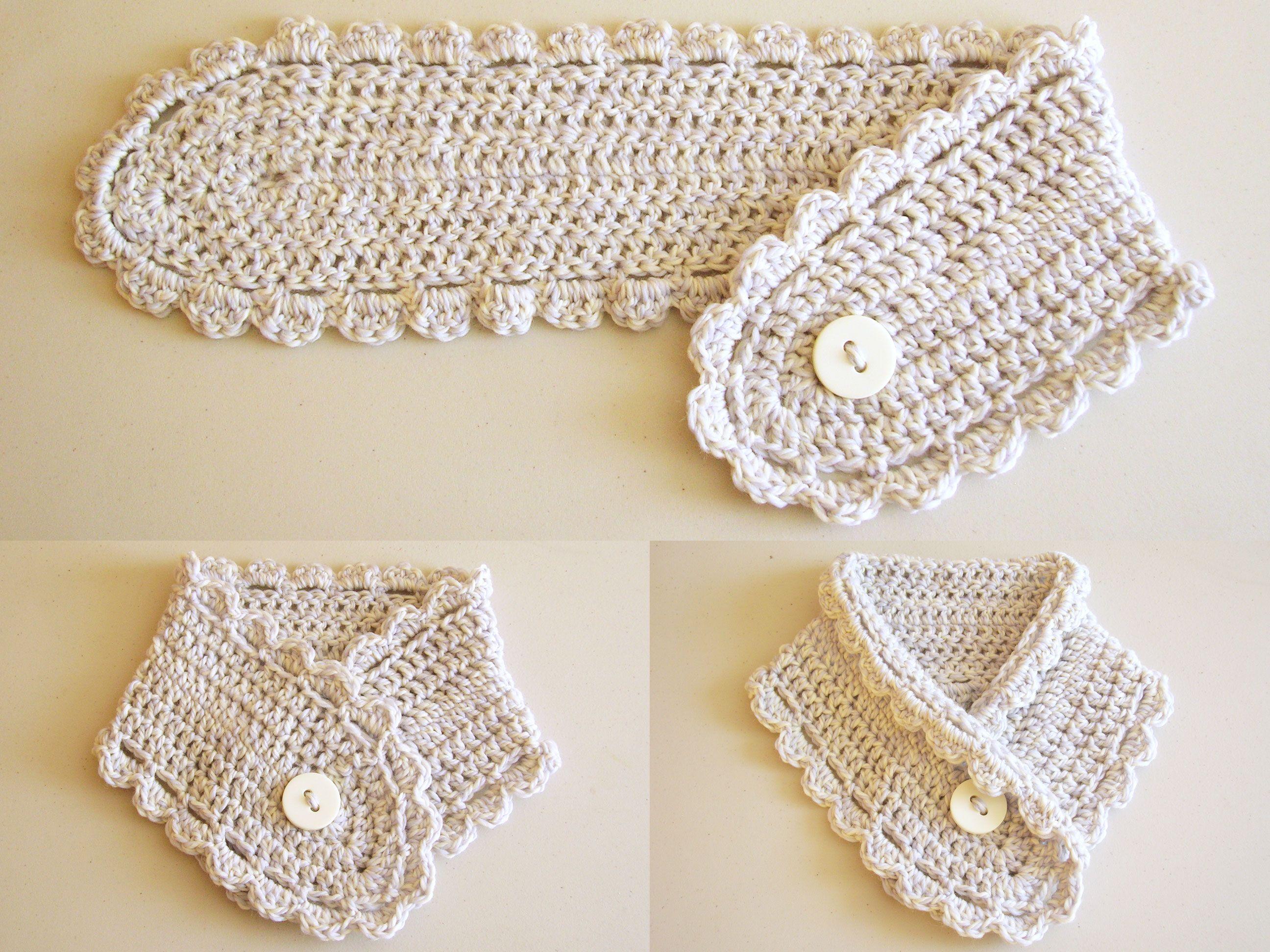 Short scarf/ Bufanda corta | Tejido | Pinterest | Patrón gratis ...