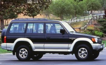 Mitsubishi Montero Wagon 1991 97
