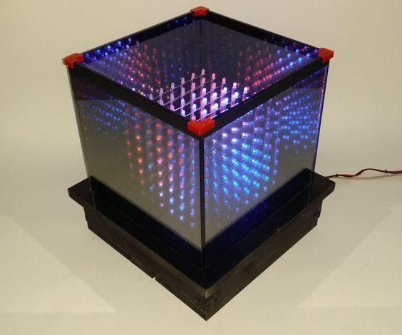 Infinite Rgb Led Cube Technik Pinterest Cube