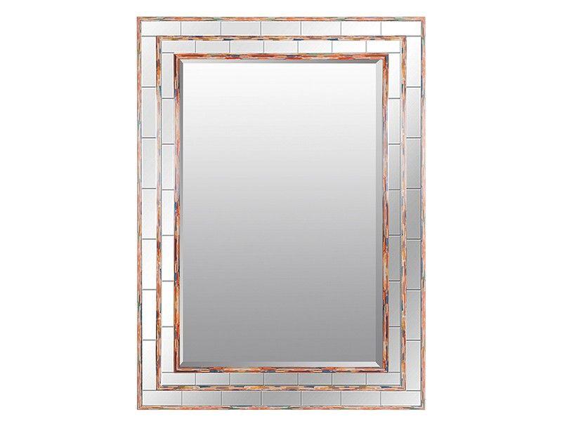 Espejo biselado con marco de colores | Espejos | Pinterest | Espejo ...