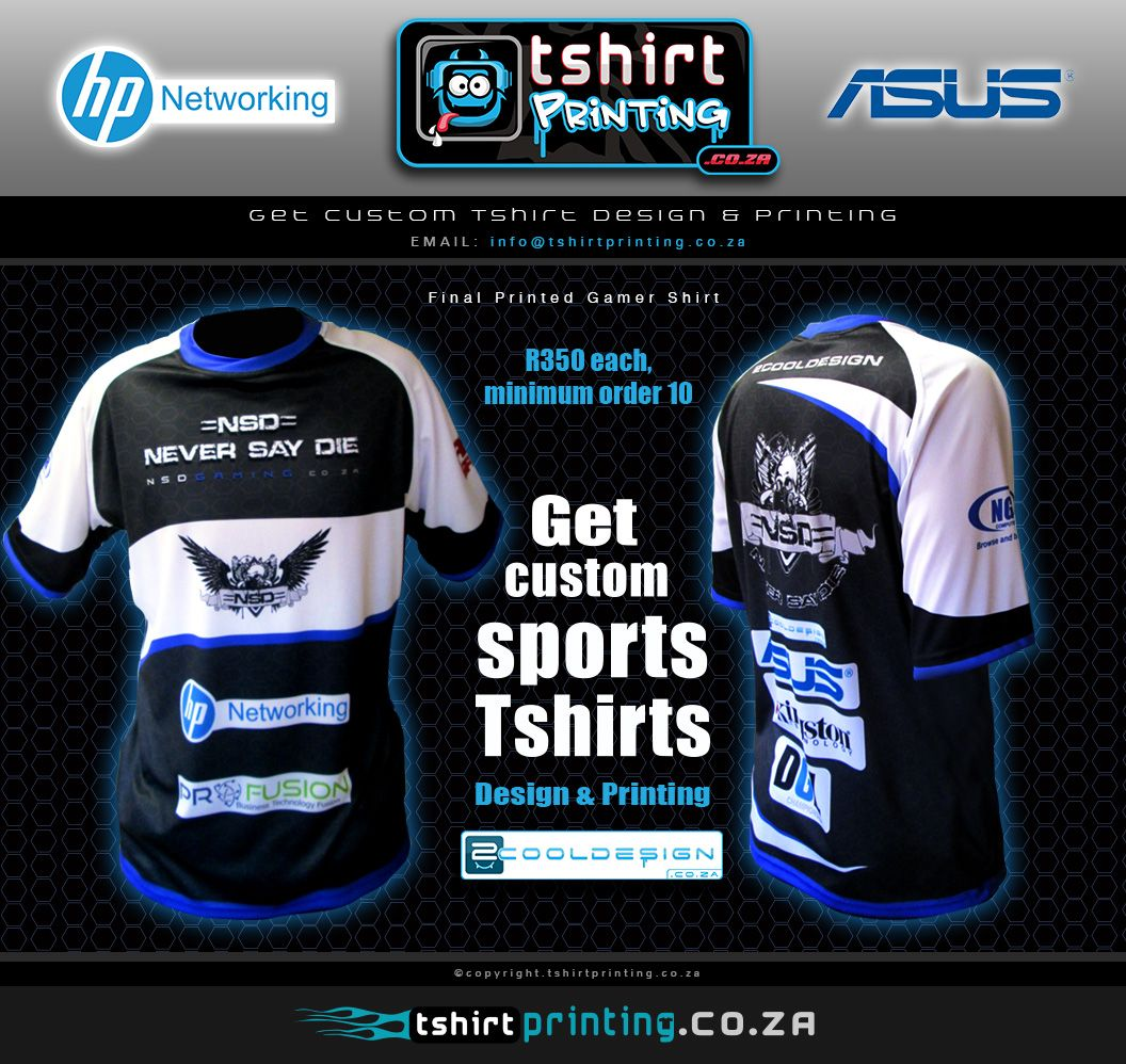 Need A Sports T Shirt Kit Contact Us Now Sports Garment Printing
