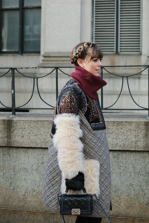 Fall 2016 New York Fashion Week street style