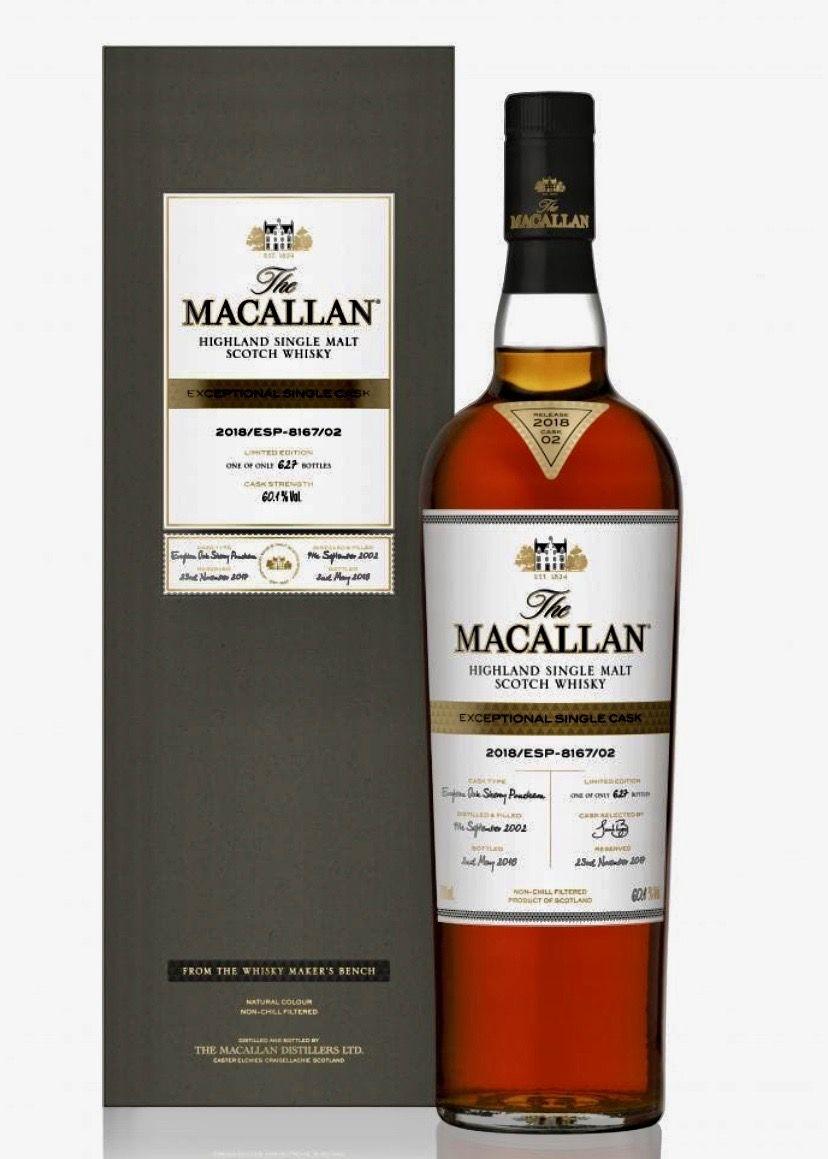 Macallan Exceptional Cask 2018 Macallan Whisky Malt Whisky Whisky