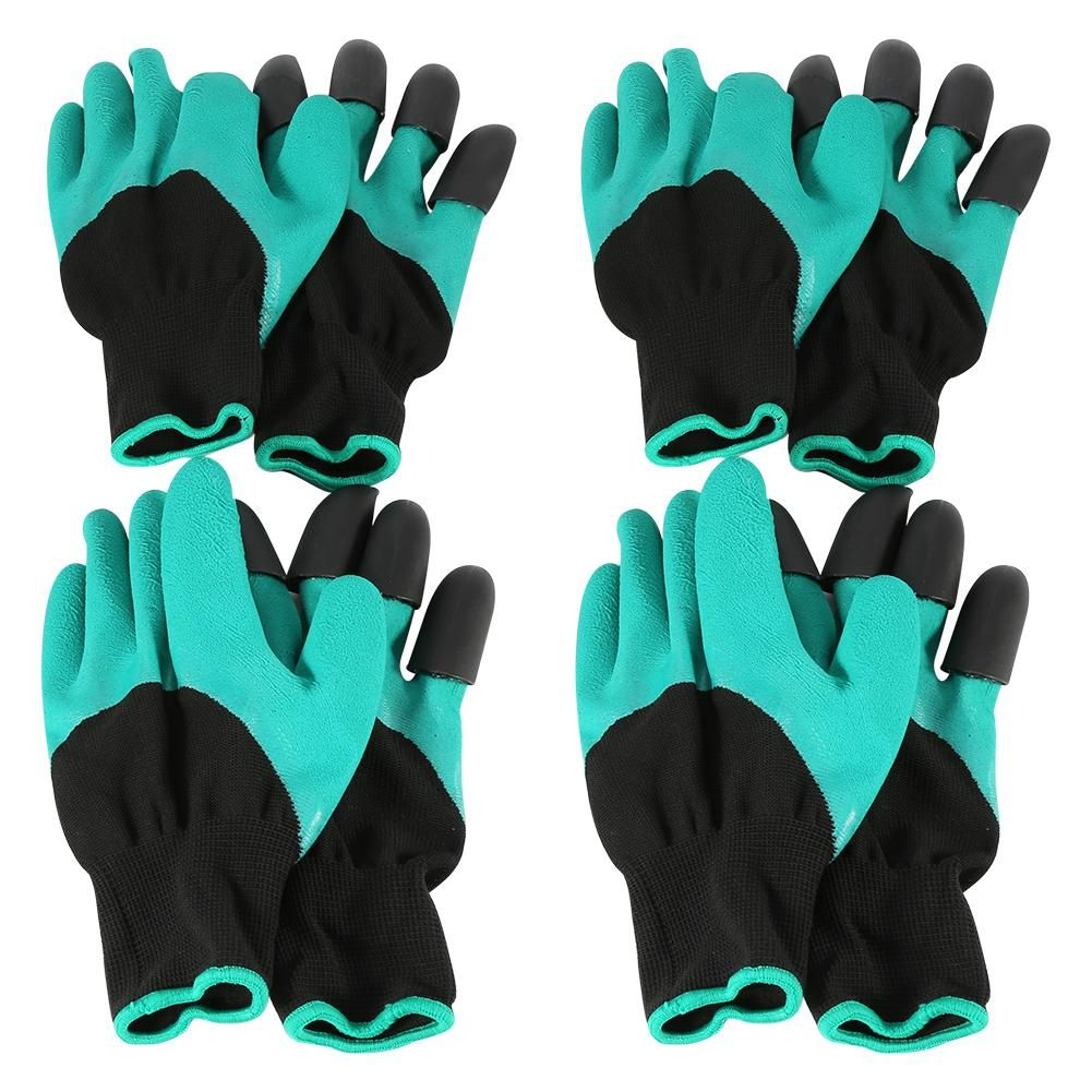 Recomeneded 4 Pairs Garden Genie Gloves Garden Glove Digging