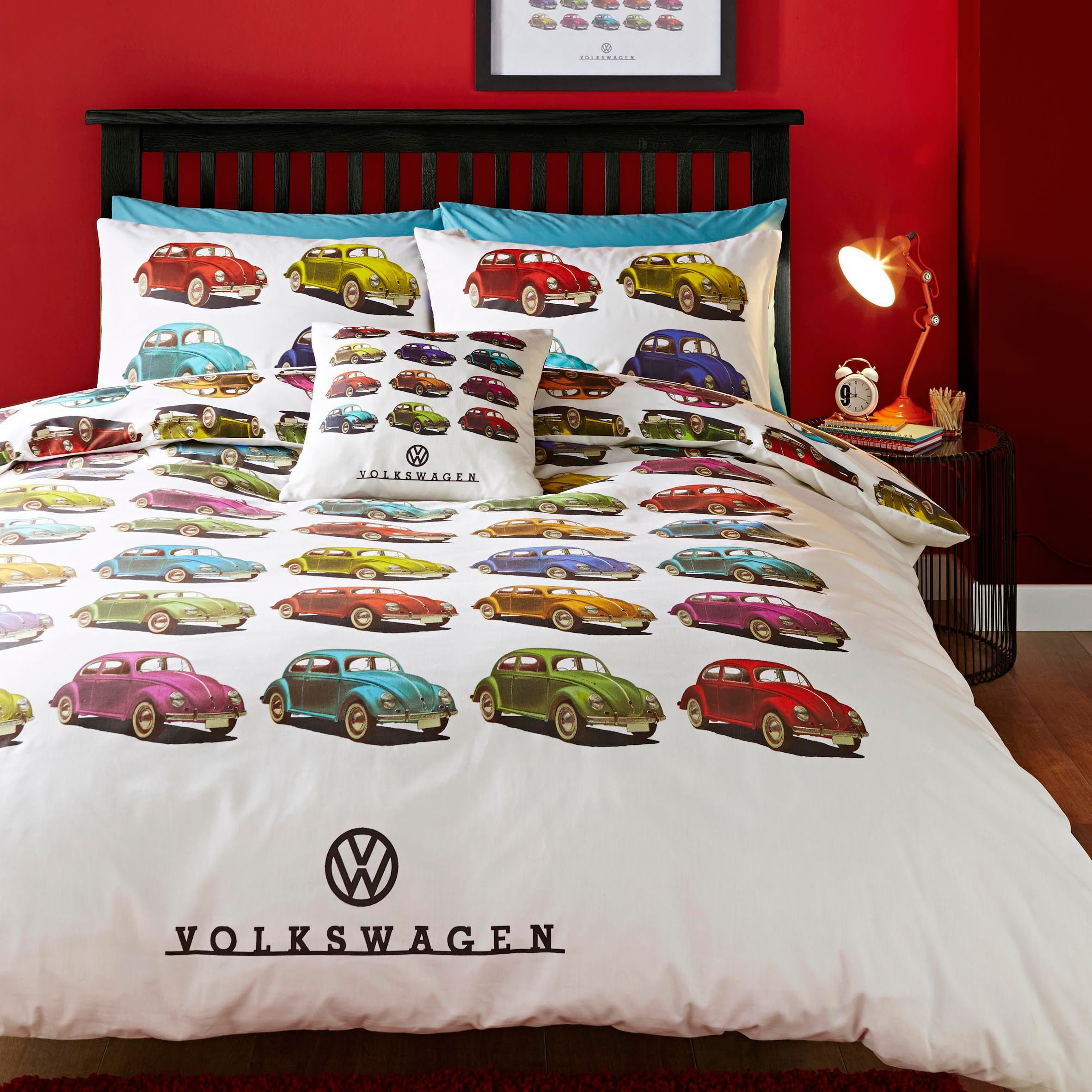 Volkswagen Beetle Multicolour Single Bed Set Departments Diy At B Amp Q Single Bedding Sets Bedding Sets Bedding Sets Uk