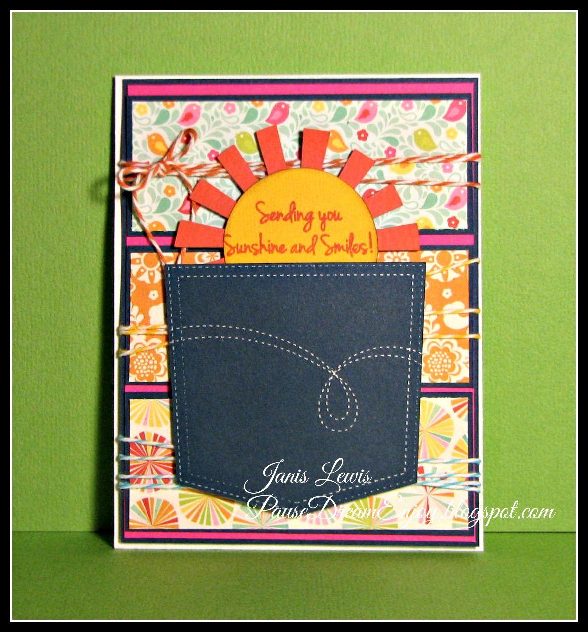 Pause Dream Enjoy: Pocket of Sunshine (Timeless Twine Guest Designer)