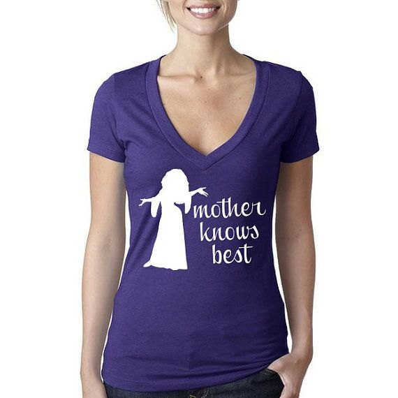 Disney's Tangled Shirt // Mother Knows Best Mother Gothel