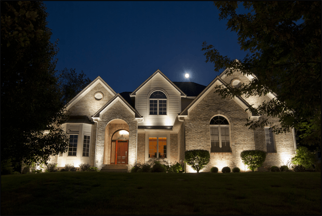 How To Use Landscape Lighting Techniques Exterior House Lights Landscape Lighting Design Backyard Lighting