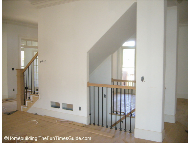 Open The Wall Between The Kitchen And The Livingroom And The Stairs To The  Basement.