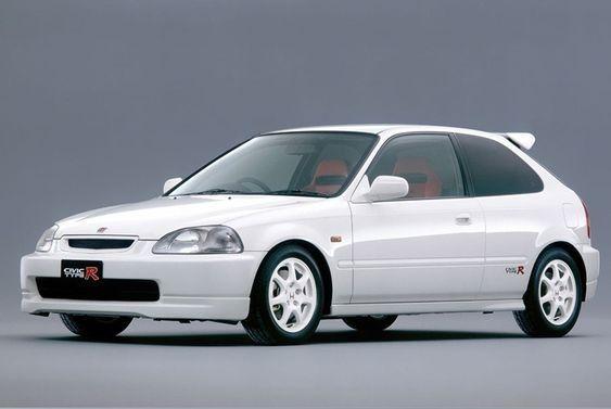 Ek9 Civic Type R In Championship White Honda Civic Type R Honda Civic Honda Civic Hatchback