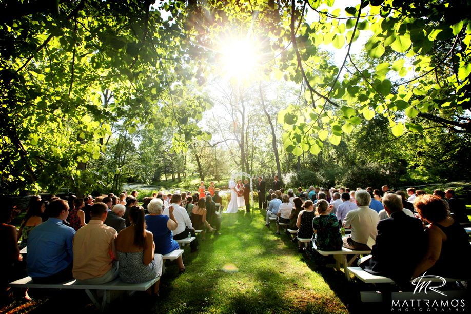 Outdoor Ceremony Space Near A