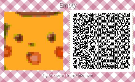 Surprised Pikachu Animal Crossing Qr Acpatterns Animal Crossing Animal Crossing Qr Animal Crossing 3ds