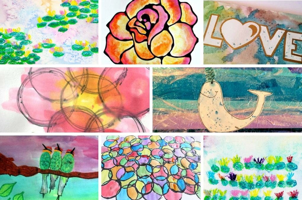 47 Creative Watercolor Painting Ideas Kids Will Love Spring Art