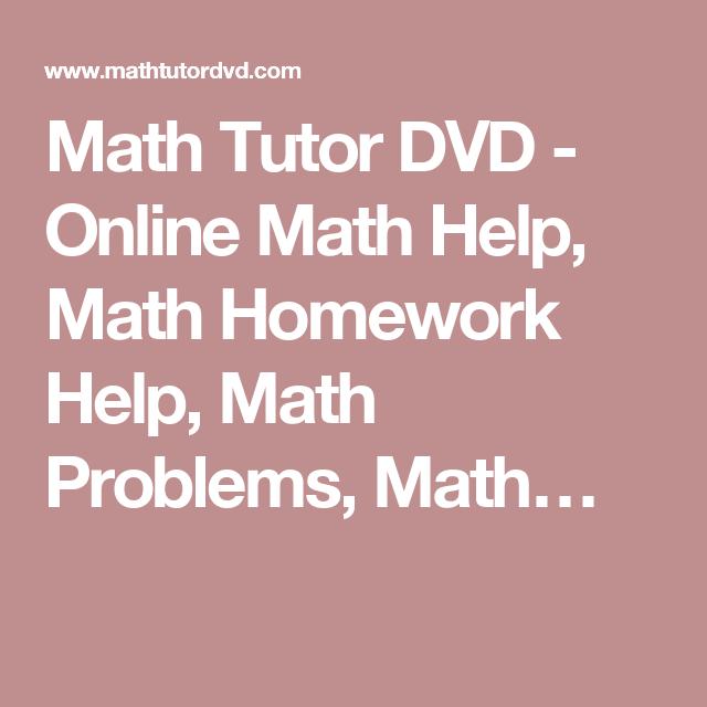 Ausgezeichnet Helpmath.com Ideen - Mathematik & Geometrie ...