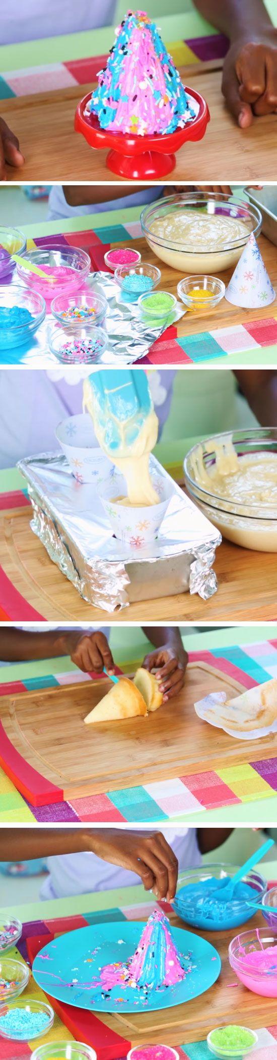 Edible Unicorn Horn Easy Birthday Party Food Ideas For Kids Diy