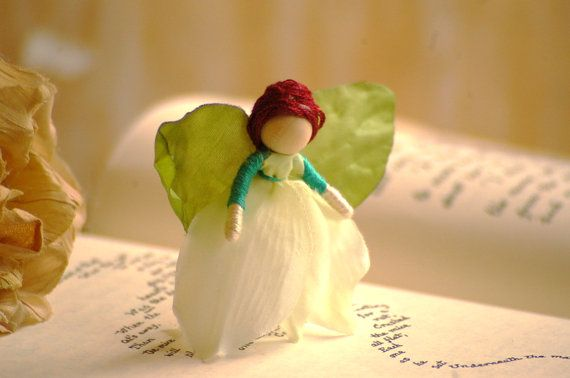 Miniature Fairy Doll - flower fairy doll, flower fairies, waldorf fairy doll, miniature fairies