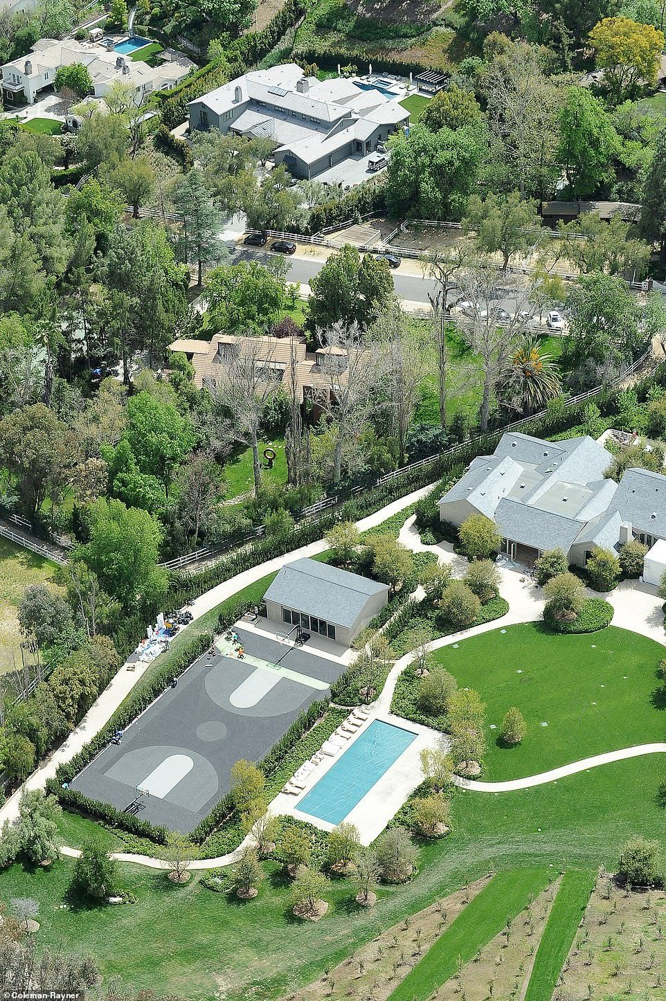 Kim Kardashian And Kanye West S 20m Mansion Renovation Is