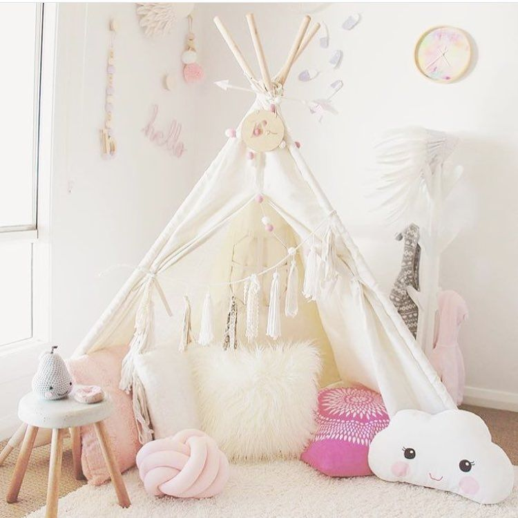 hot sales f03b8 85a5f The cutest little teepee + accessories! Love the cloud ...