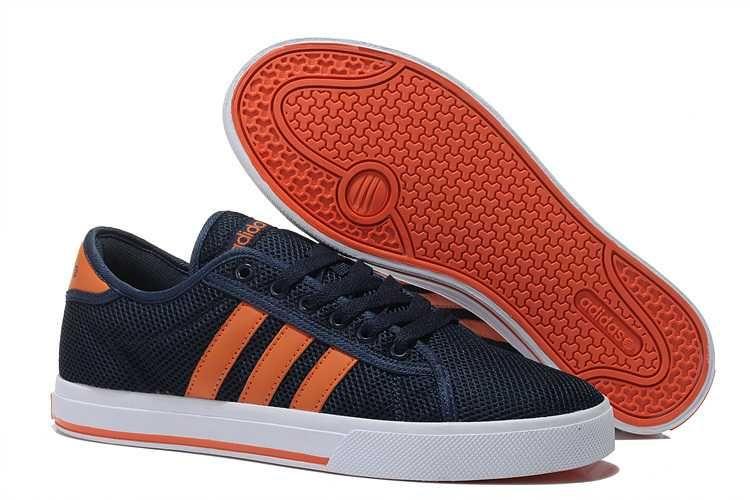 official photos d850d 8a60e 1659  Adidas Neo Skor Herr Mörk Blå Orange SE298377QIbAbqY